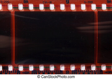 photographic film negative isolated - a photographic film...