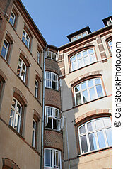 apartments flats - apartments or flats in building rental...