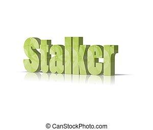 stalker 3d word