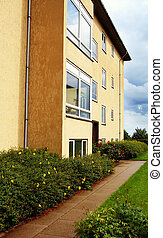 apartments flats - apartments or flats in building. rental...