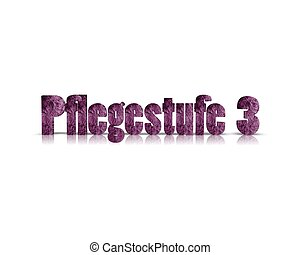 pflegestufe 3d word
