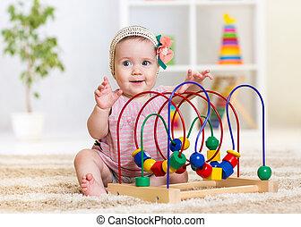 面白い, 教育, おもちゃ, 屋内, 子供, 遊び