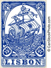 Traditional Tiles Azulejos Lisbon - Detailed Traditional...
