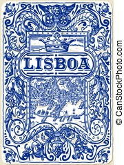 Traditional Tiles Azulejos Lisboa - Detailed Traditional...