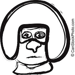 doodle helmet
