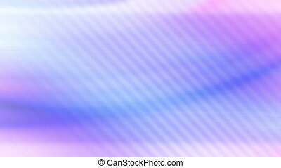 Blue purple soft flowing loop - Abstract animated blue...