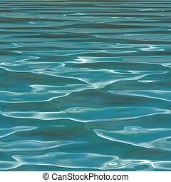 Seamless Blue Water Background - Seamless blue water...