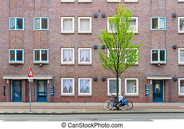 Apartment Building in Amsterdam