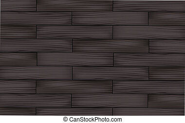 wood background - illustration drawing of beautiful deep...