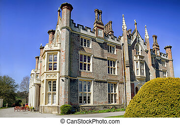 Conishead Priory near Ulverston, Cumbria - The historic...