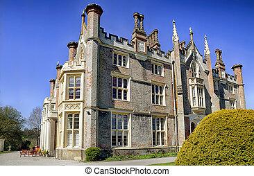 Conishead Priory near Ulverston, Cumbria. - The historic...