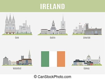 Cities of Ireland Famous Places Ireland cities