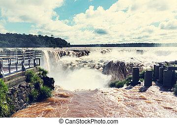 Iguazu - Iguassu Falls, instagram filter