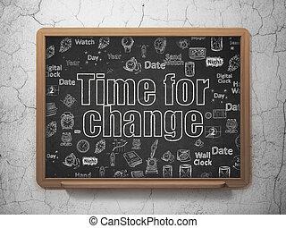 szkoła,  Timeline,  concept:, tło, czas, zmiana, deska