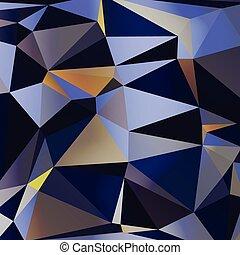 カラフルである, 抽象的, vector., 三角,...