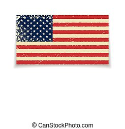 Flag of the United States.