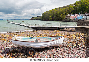 Dale Pembrokeshire West Wales - Boats at Dale is a small...