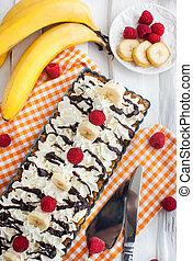 Banoffee pie banana and toffee tart - Banoffee pie banana...