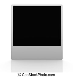 Picture Frame - 3D Illustration. Classic picture frames of...