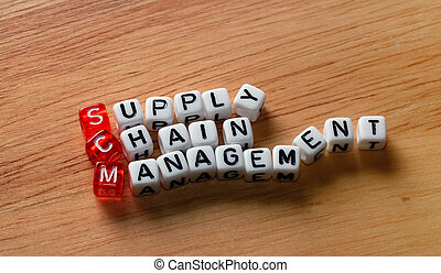 SCM Supply Chain Management on wood - SCM Supply Chain...