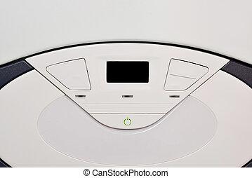 Electronic panel heating