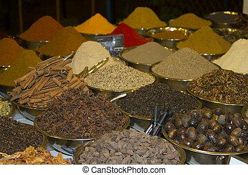 Spice Indian bazaar Anjuna Market Goa