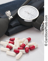 Pills and sphygmomanomet - Pills to control and...