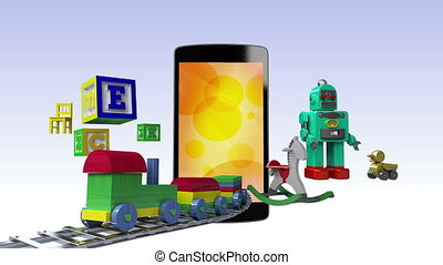 Kids, Toy contents for Smart phone - Kids, Toy, Children...