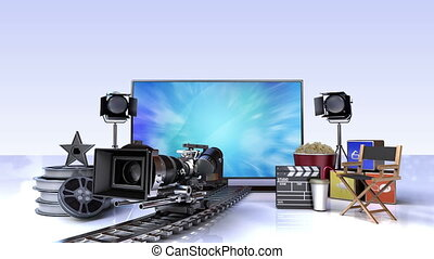 Movie, Drama contents for Smart TV