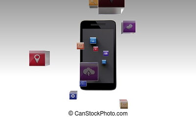 Applications into smart phone - Various Applications into...