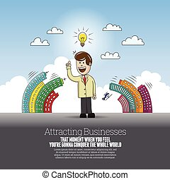 Attracting Business