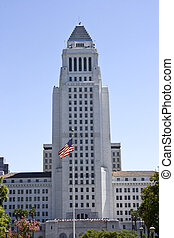 Los Angeles town hall, California
