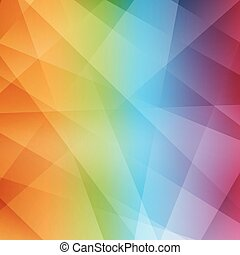 Abstract rainbow background. Modern pattern. Vector...