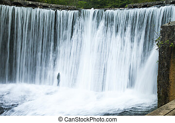 Falls on the river - The falls on the river are pleasing to...