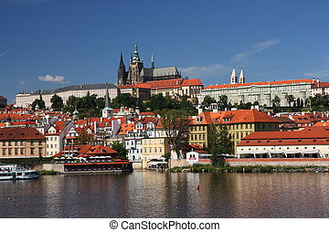 View on the Prague castle, Czech republic