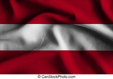 Flag of Austria.