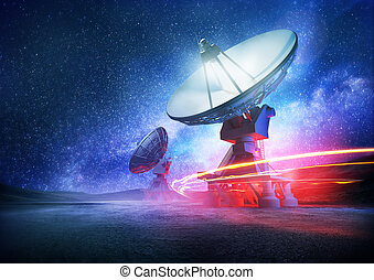 Deep Space Radio Telescope - Astronomy deep space radio...