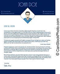 cover letter illustrations and clipart 20 805 cover letter royalty
