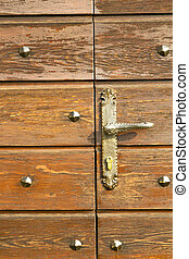 capronno abstract curch closed wood italy lombardy - brebbia...