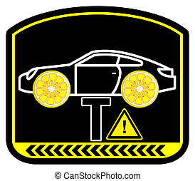 Warning Lemon Car - Watch out for hidden mechanical flaws or...