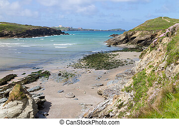 View From Porth to Newquay