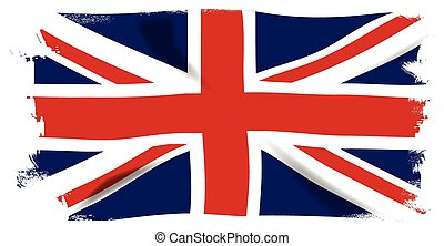 Union Jack Grunge - The British Union Flag, or Union Jack...