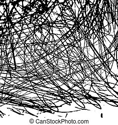 Texture2 - Grunge scribble overlay texture. EPS10 vector...