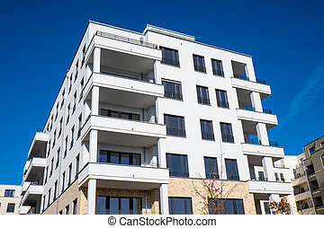 New apartment building in Berlin