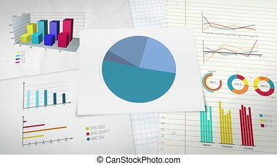 Circle diagram for presentation, Pie chart indicated 20...