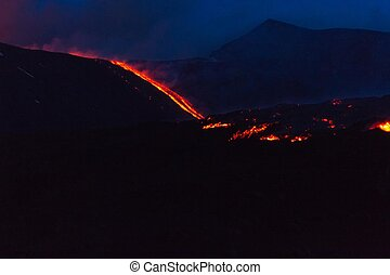 Etna Eruption of 16, May 2015