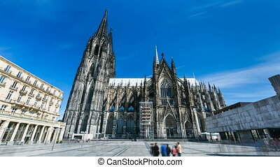 Cologne Cathedral Time Lapse - Long exposure time lapse...