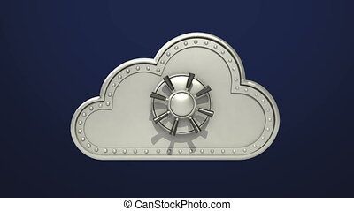 Access Cloud file security animation included Alpha Opened...