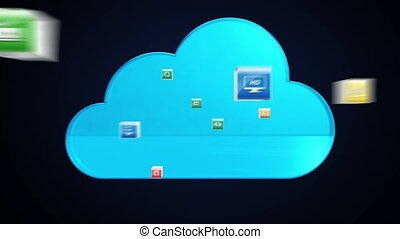 Various application makes Cloud service.