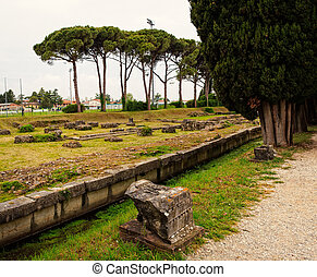Archeological area of Aquileia - View of the Archeological...